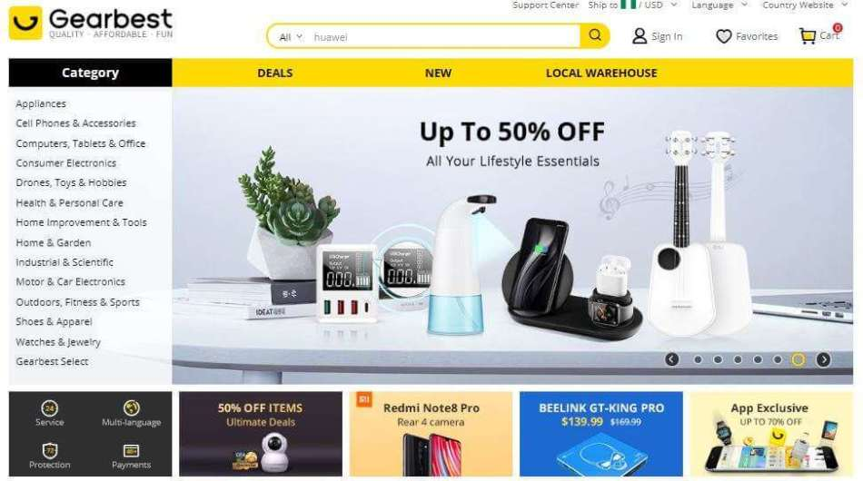 Top 5 Online Shopping Sites That Ship To Nigeria Shopping Guide