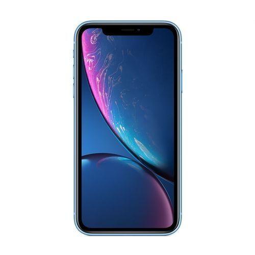 IPhone XR (3GB RAM, 64GB ROM) IOS 12 (12MP+7MP) - Blue - (nano-SIM) Single