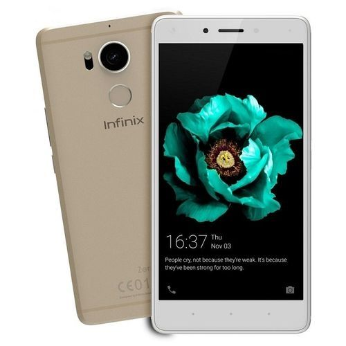 Zero 4 (X555) 5.5-Inch IPS LCD (3GB RAM,32GB ROM) Android 6.0 Marshmallow, 16MP + 8MP Dual SIM 4G LTE Smartphone - Champagne Gold
