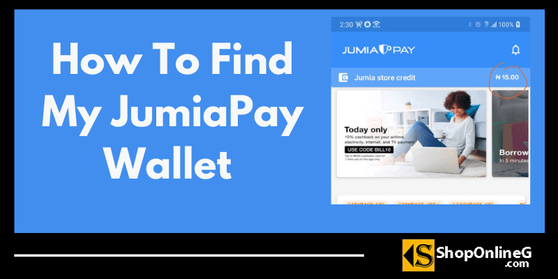 You are currently viewing How To Find My JumiaPay Wallet : Step By Step Guide