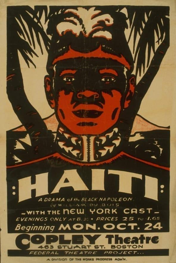 """W.E.B. du Boi's 1938 production """"Haiti"""""""