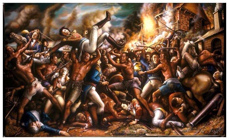 Haitian Heroes by Ulrich Jean-Pierre