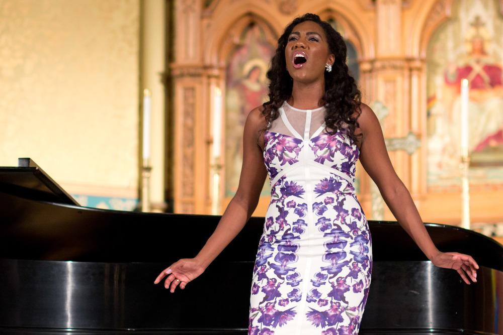black opera singer