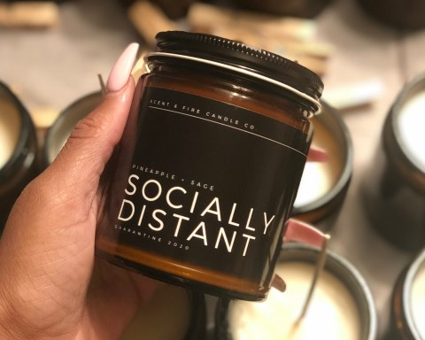 Black Owned Candle Business