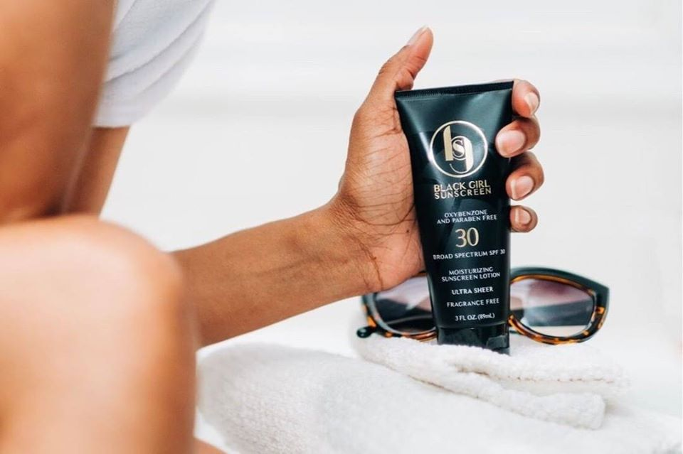 black owned sunscreen