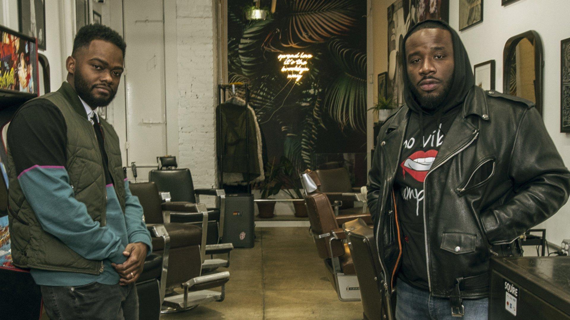Black Owned Barbershop App