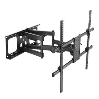1b40b primecables cab lpa49 686 tv wall mounts stands super solid large full motion tv wall mount 50 90 led lcd curved flat panel tvs primecables
