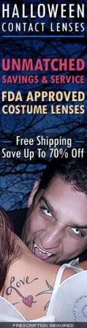 Halloween Contact Lenses -FREE SHIPPING