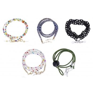 Colección de cordones/cadenas para mascarillas y gafas NODESERT