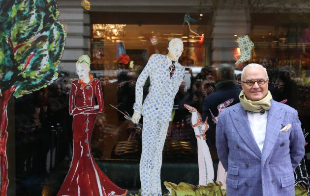 "World-renowned Spanish shoe designer Manuel ""Manolo"" Blahnik Rodríguez"