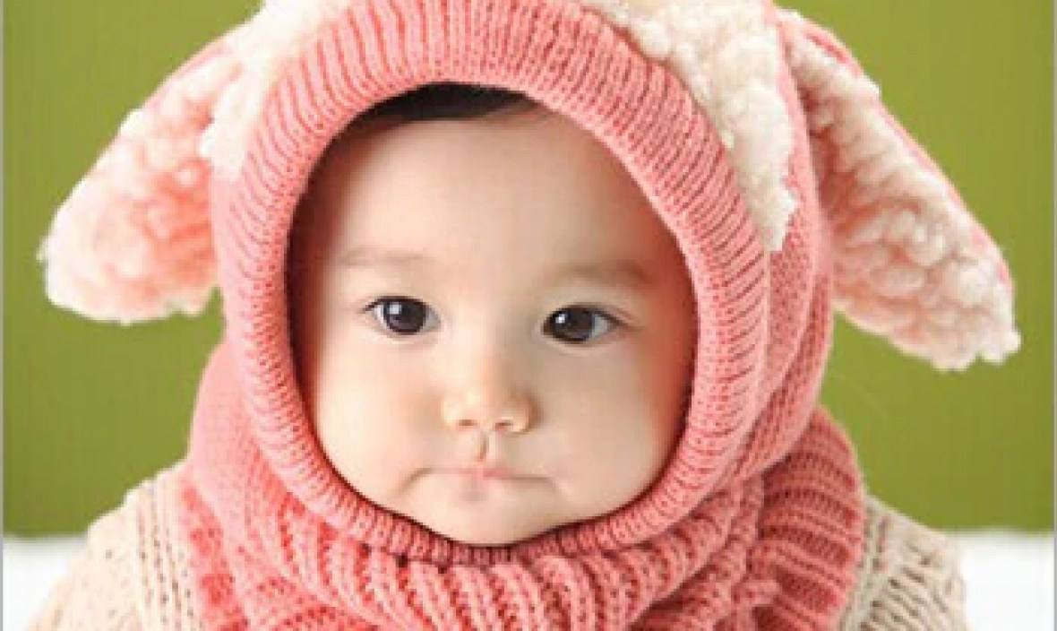 2017 New Winter Puppy Scarf Baby Winter Wool Hat Hot Sale Beanie Hat Hooded Scarf Earflap Cute Knit Cap hat Toddler Accessories