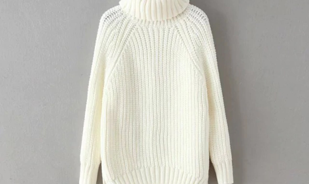 Sale autumn and winter hot sale basic black and white solid women sweaters computer knitted turtleneck pullovers hot sweaters