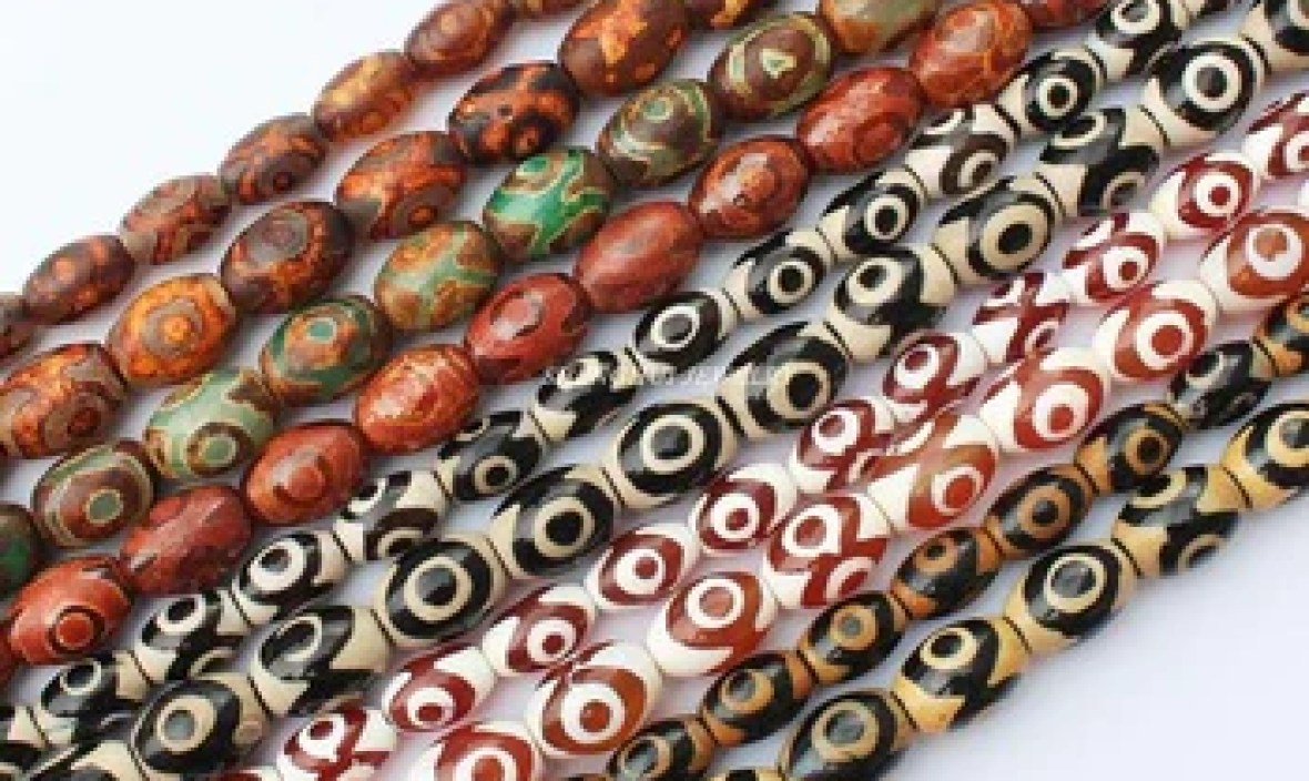 8×12 / 10x14mm 3 Eyes Old Dzi Beads Oval ag-ates Beads  , For DIY Jewelry making ! Mixed wholesale for all items!