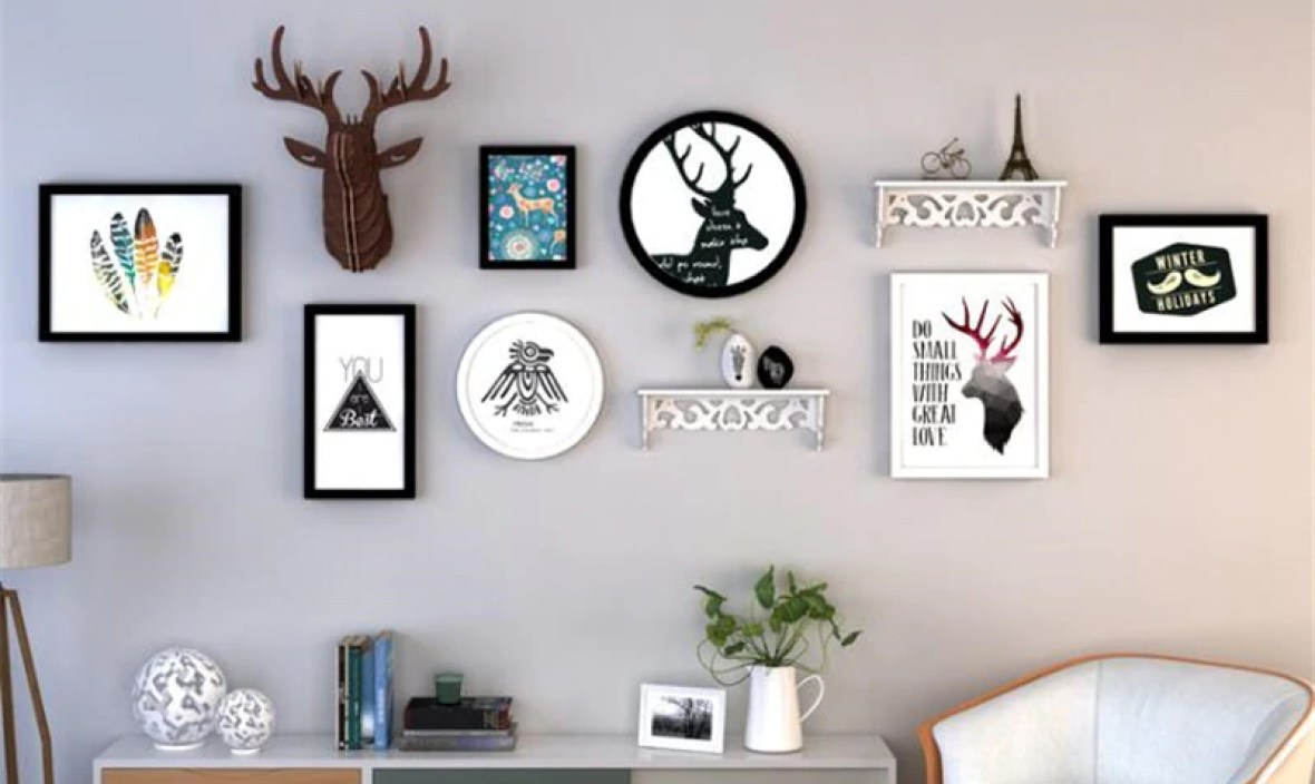 Home Design Family Picture Frame Wall Cadre Photo Creative Gift Wood Photo Frames Living Room Decoration Wedding Picture Frames