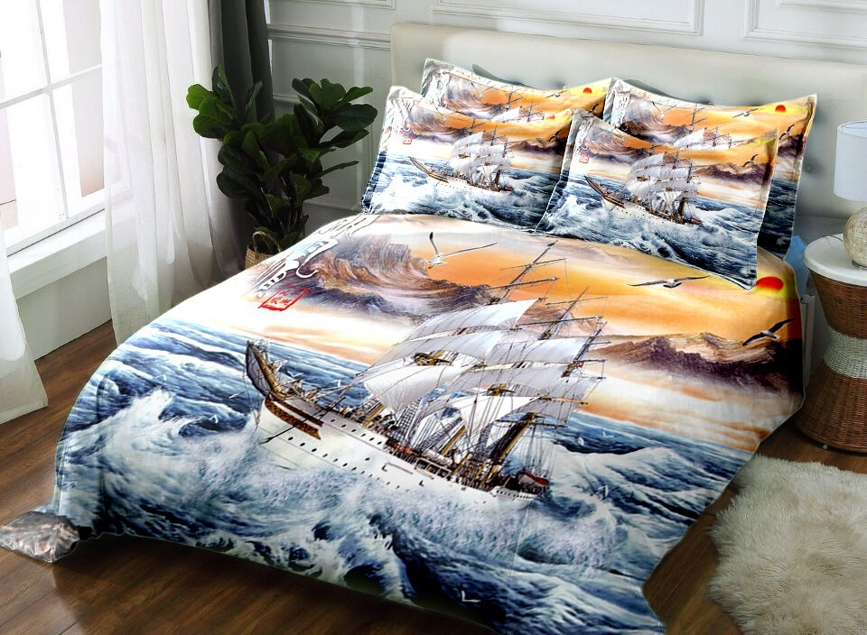 home design 2018 3D bedding set Twin Full king size Queen bedsheet Duvet bed cover  Pillowcase flat sheet Drop Ship bed set