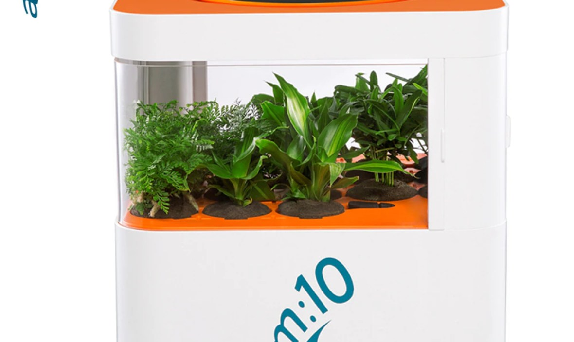 Desktop Plants Air Purifier Home Design Super Quiet for Rooms and Offices, Removing Allergens, Dust & Pollen, Smoke