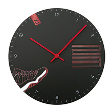 Fashion Home Silent Wall Clock Modern Design Black Nordic Design Wallclock Backstreet Boys Wanduhren Gift For Boyfriend 60ZB068