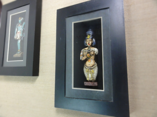 Art Bar art simulation three-dimensional painting of ancient Egypt and ancient civilizations of ancient Egypt decorative paintin