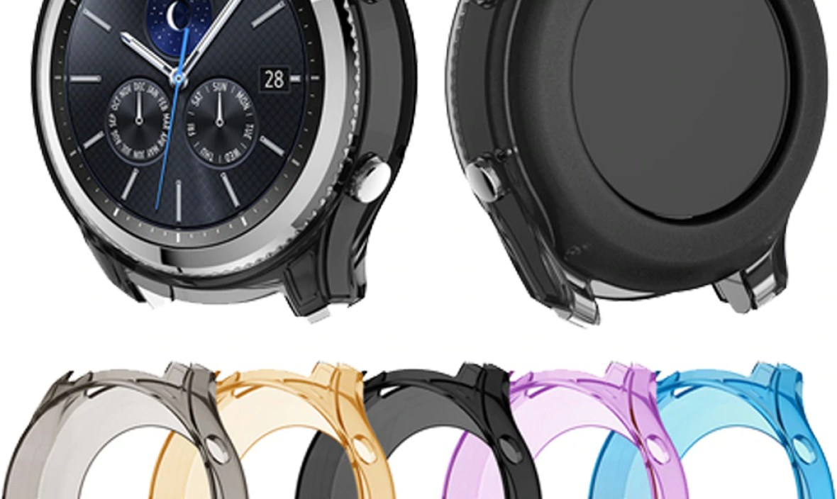 watch case For samsung Gear S3 smart watch protective All-Around protection screen Prevent scratching prevent falling Add color