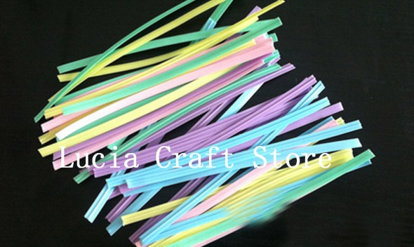 SALE! Lucia Craft 200pcs 4mm*10cm Wire Belt For Food Gift PE Packaging Bakery Bags Seals Packing Florist Materials 085010004