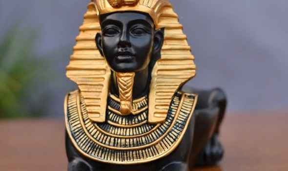 Ancient Egypt Cat Dog God Ashtray Figurine Animals Art Sculpture Resin Art&Craft Home Decoration Accessories Creative Gift R972