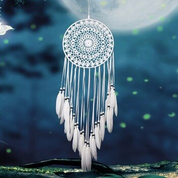Multi-styles Home Design Handmade Dream Catcher With Rattan Bead Feathers Wall Car Hanging Decoration Ornament Dreamcatcher