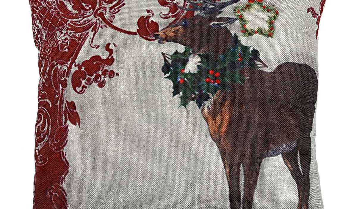 HOT SALE Christmas Snowman Reindeer Elk Flax Pillow Case 18 x 18 inch pillow cover Home Design Pillow Case