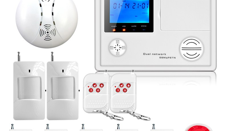 Free shopping latest best security system for home RFID reading SMS report new PSTN  gsm alarm home design