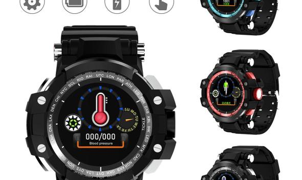 Smart Watch IP68 Bluetooth Smart Watch Blood Pressure Heart Rate Monitor Information Remind Three Anti-smart Outdoor Sport Watch