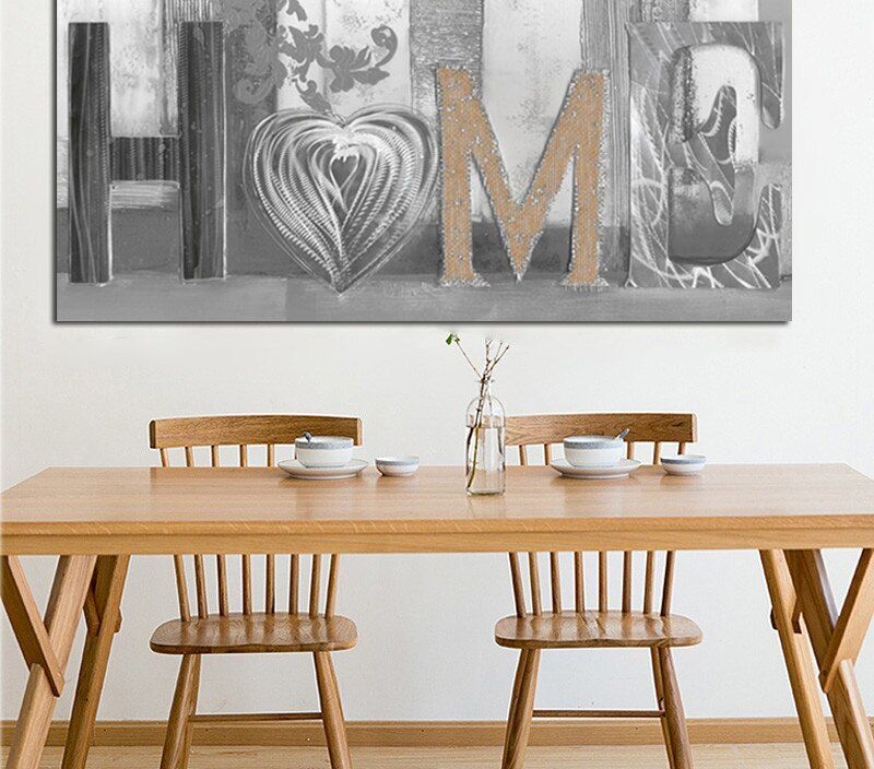 HD Print Modern Abstract Home Design Flower Oil Painting on Canvas Poster Modern Art Wall Picture for Living Room Cuadros Decor