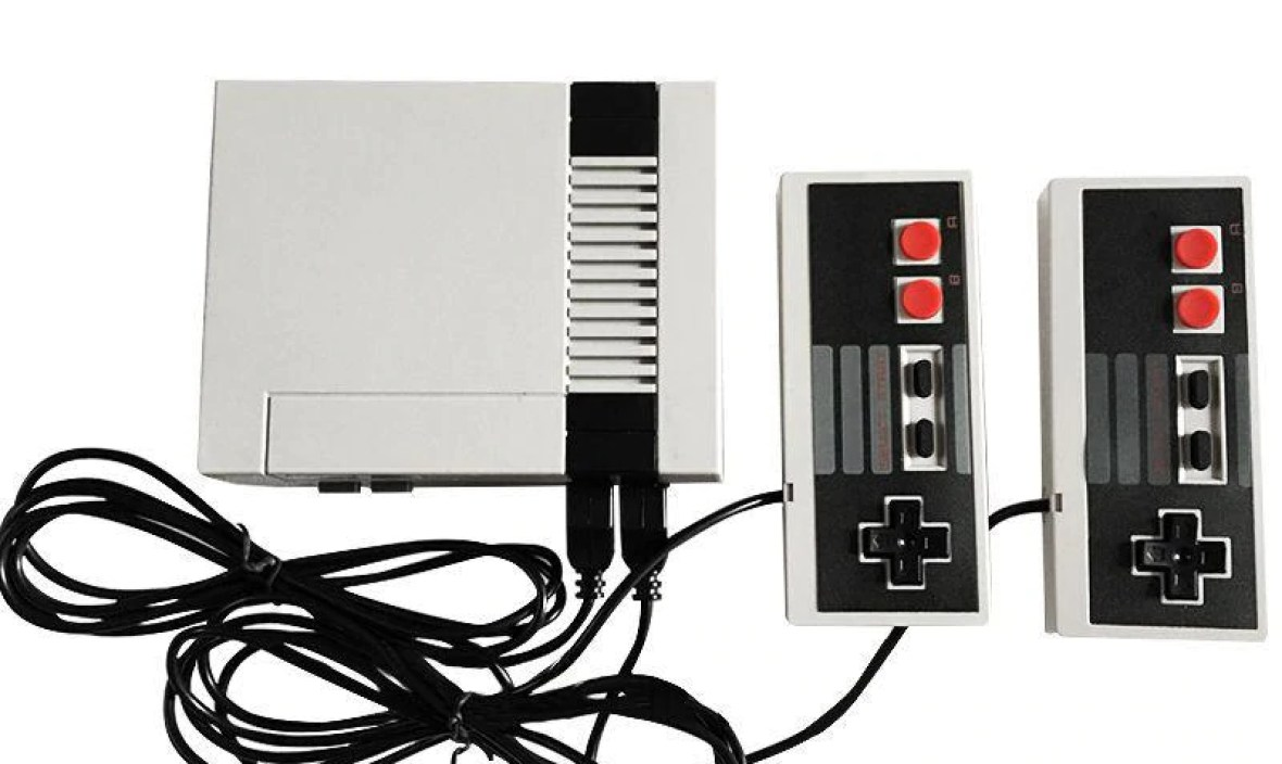 Classic 8 Bits Game Consoles Professional System For NES Game Player Built-in 620 TV Video Game With Dual Controller EU Plug