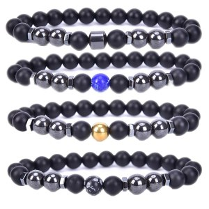 Weight Loss Magnet Anklet Colorful Stone Magnetic Therapy Bracelet Weight Loss Product Slimming Health Care jewelry