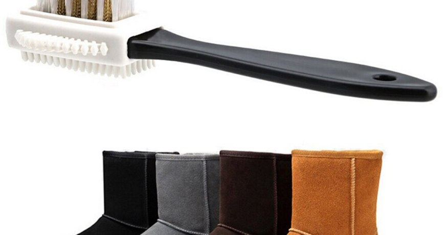 Home design Cleaning Brush for Suede Nubuck Boot Shoes  Cleaner care tool