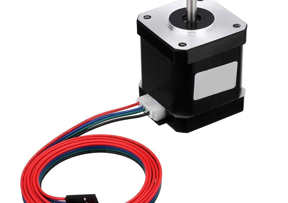 Stepper Motor 1.8 A 52 N.cm 4 Leads for 3D Laser Printer CNC Motor for Industury Machine Medical Instruments Professional Tools
