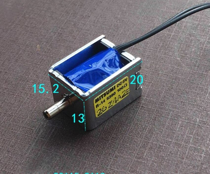 DC 6V one-Position One-Way Electronic Control Solenoid Exhaust Air Valve For Blood Pressure Monitor Medical Instruments