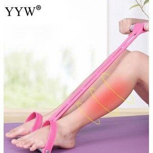 Weight Loss Fitness Equipment For Home Gym Tension Trainer Sports Foot Expander Chest Pull Leg Latex Draw Rope Gymnastics Rope
