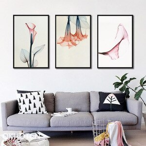 Watercolor Flower Poster Nordic Canvas Painting For The Wall Modern Home Decoration Decorative Pictures For Home Design