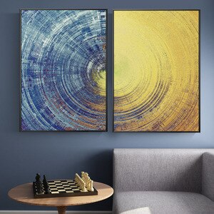 Modern Abstract Painting Home Decoration Posters and Prints for Living Room Paintings On The Wall Pictures Foe Home Design