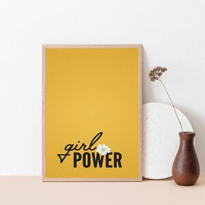 Funny girl power Pictures For Home Design Wall Pictures Baby Girl Boy Room Decor Wall Pictures Baby Kids Room Decor