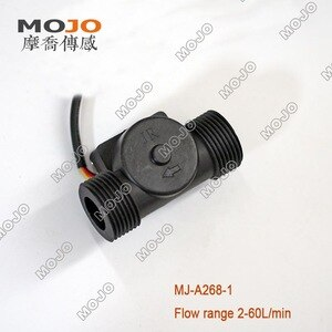 Medical apparatus and instruments MJ-A268-1(10pcs/lot) 1 Inch Plastic Water Flow Switch hall flow sensor