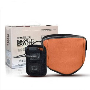 Medical strain of lumbar muscles belt belt hot compress massage therapy instrument and herniation