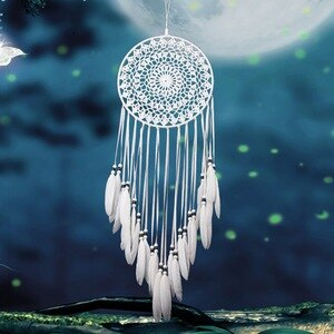 Multi-styles Home Design Handmade Dream Catcher With Rattan Bead Feathers Wall Car Hanging Decoration Ornament Dreamcatcher 2018