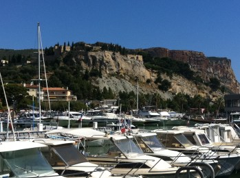 A break from meetings in Marseille, August 2012
