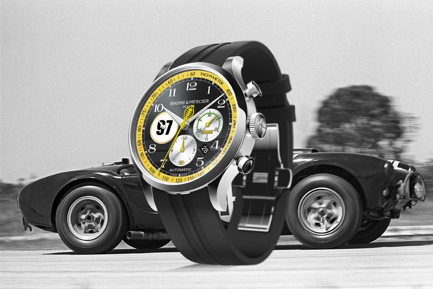 BAUME & MERCIER revient avec quatre éditions limitées :  la Capeland Shelby Cobra Legendary Drivers Limited Edition