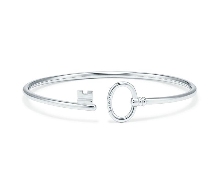 Bracelet Wire Tiffany Keys en or blanc, Tiffany & Co. 1 600 €