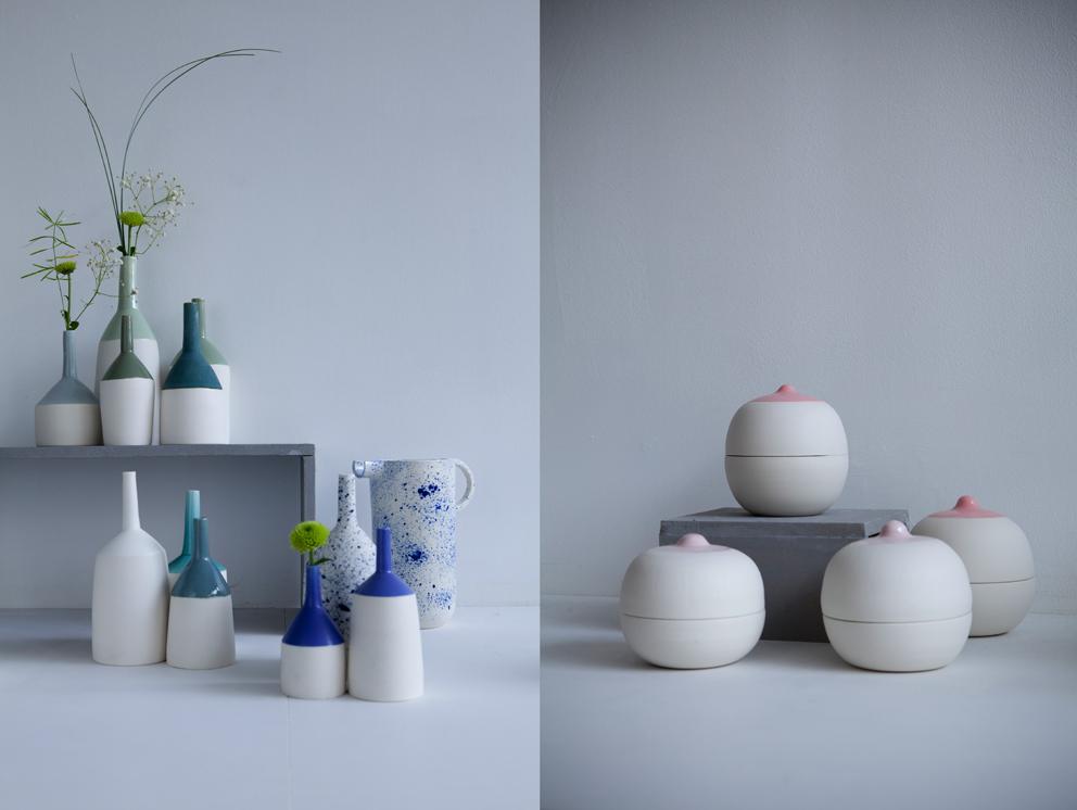 Pia Van Peteghem est tombée dans la céramique dès son plus jeune âge. Découvrez son travail et son amour de la matière. En 2015, elle est sélectionnée par la Fondation Hermès pour participer à l'Académie des savoir-faire.