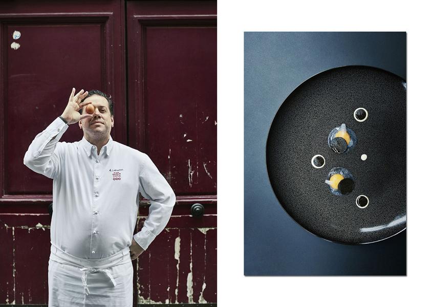 Arnaud LALLEMENT de l'Assiette Chapenoise, un passionné de Champagne (Krug of course) et d'œufs !