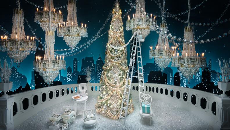 Et si, cette année, le père Noël descendait des États-Unis et s'appelait Tiffany & Co ?