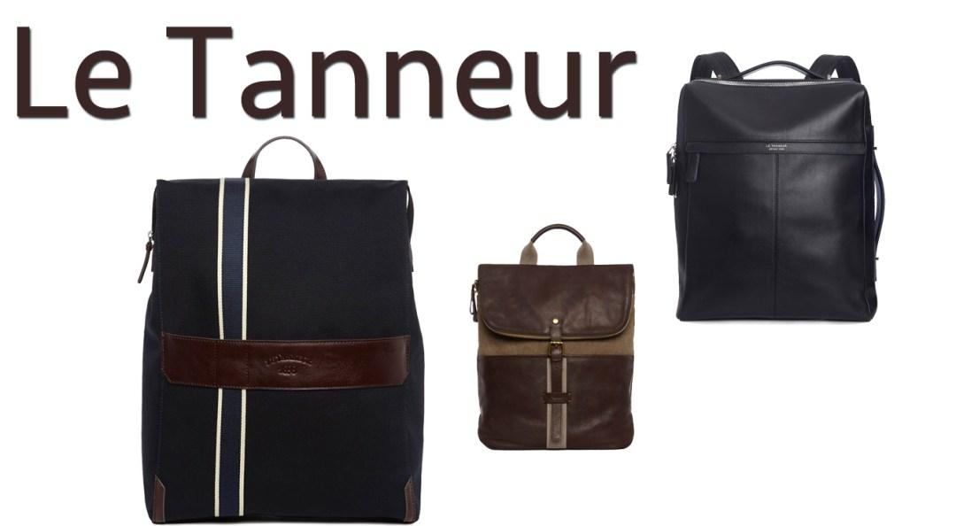 Le Tanneur, c'est sobre, élégant, toujours impeccable dans la réalisation. A vous de choisir entre le modèle tout cuir ou le mix toile et cuir très tendance !