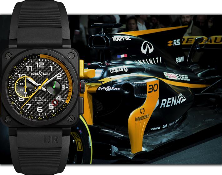Partenariat Renault Sport F1 2017 : Bell & Ross lance BR 03-94 R.S.17